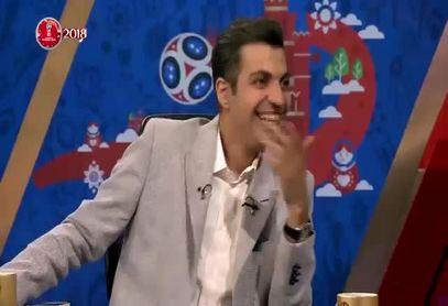 تیکه خنده دار فردوسی پور در حضور سهراب بختیاری