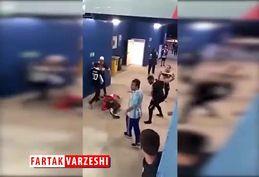 کتک کاری شدید هواداران کرواسی توسط آرژانتینیها